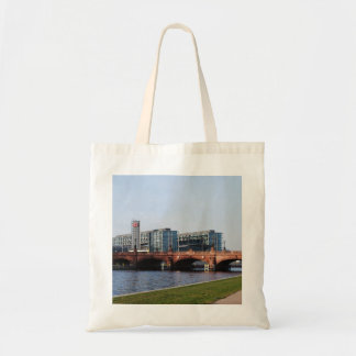 Berlin Train Station and Park - DB Canvas Bag