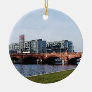 Berlin Train Station and Park - DB Ceramic Ornament