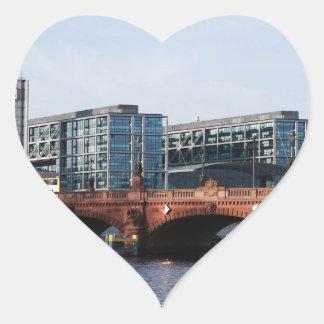Berlin Train Station and Park - DB Heart Sticker