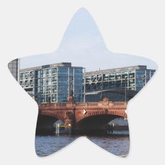 Berlin Train Station and Park - DB Star Sticker