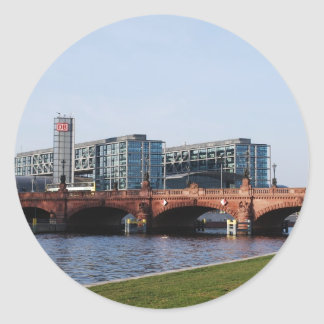Berlin Train Station and Park - DB Sticker