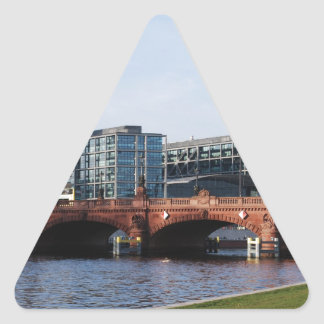 Berlin Train Station and Park - DB Triangle Sticker