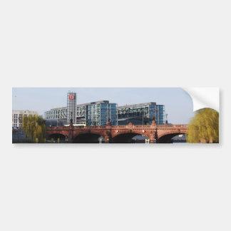 Berlin Train Station - Deutsche Bahn Bumper Sticker