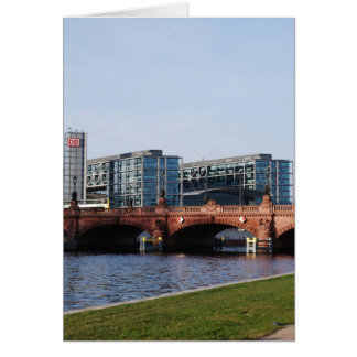 Berlin Train Station - Deutsche Bahn Greeting Card