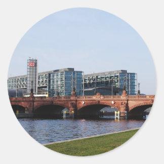 Berlin Train Station - Deutsche Bahn Round Sticker