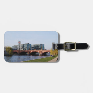 Berlin Train Station in the Park Luggage Tag