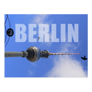 Berlin TV Tower, Alex Postcard