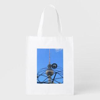 Berlin TV Tower (Berliner Fernsehturm) Reusable Grocery Bag