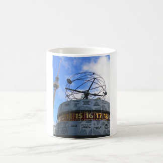 "BERLIN TV Tower with detail OF ""World time Clock "" Coffee Mug"