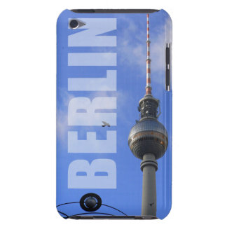 """BERLIN TV Tower with detail OF """"World time Clock """" iPod Case-Mate Case"""