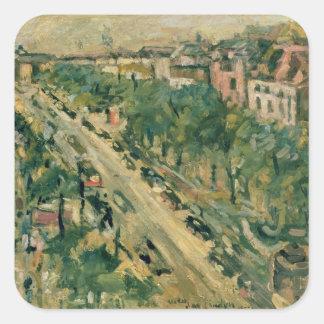 Berlin, Unter den Linden, 1922 Square Sticker
