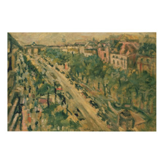 Berlin, Unter den Linden, 1922 Wood Wall Art