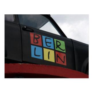 berlin vehicle postcard