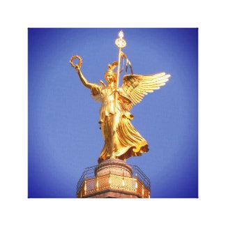 Berlin, Victory-Column 002.01.F.6 Canvas Print