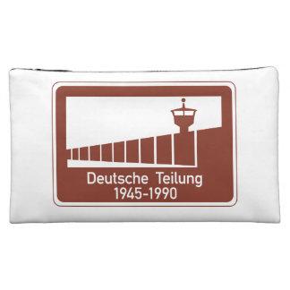 Berlin Wall 1945-1990, Berlin Wall, Germany Sign Cosmetic Bag