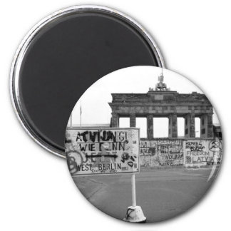 Berlin Wall 2 Inch Round Magnet