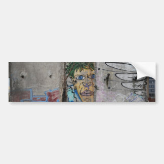 Berlin Wall Art - Berlin, Germany Bumper Sticker