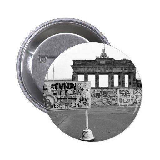 Berlin Wall Buttons