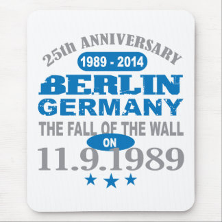 Berlin Wall Germany 25 Year Anniversary Mouse Pad