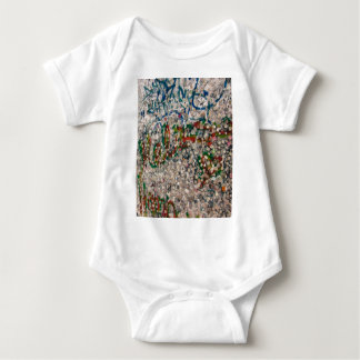 Berlin Wall Gum And Graffiti Baby Bodysuit