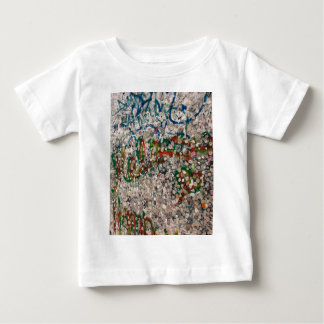 Berlin Wall Gum And Graffiti Baby T-Shirt