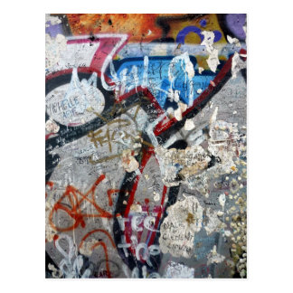 berlin wall remants post cards