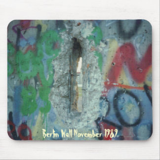 Berlin Wall - Two Days After - 1989 Mouse Pad