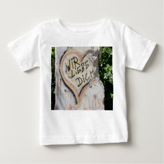 Berlin Wall - We Love You Baby T-Shirt