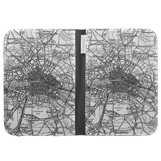 Berlín y mapa de los alrededores (1911)