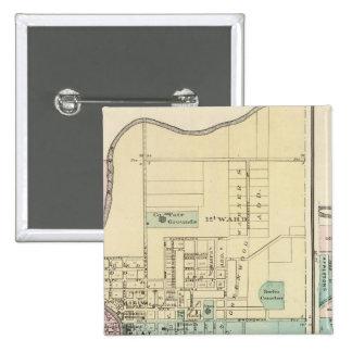 Berlín y pueblo de Plymouth Pin Cuadrado