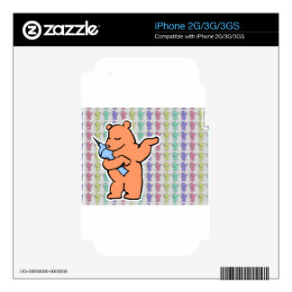 Berliner Bear Collections Decals For iPhone 2G
