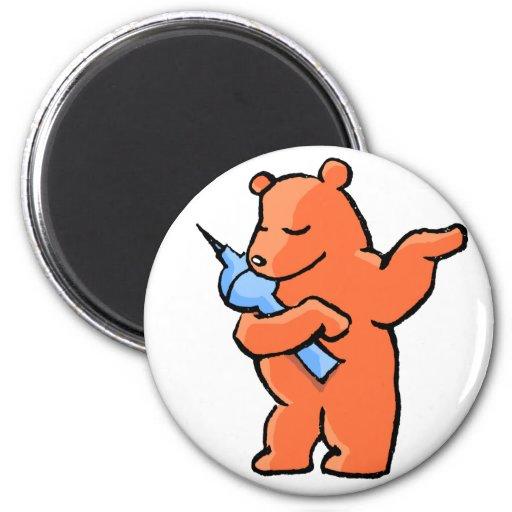 Berliner Bear! Fridge Magnets