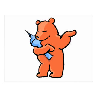 Berliner Bear! Postcard