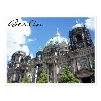 berliner cathredral germany postcard