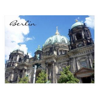 berliner dom germany postcard