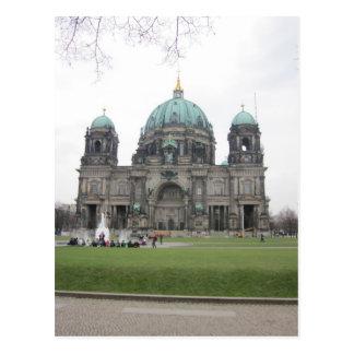 Berlinés catedral postal