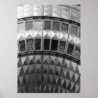 Berlinés Fernsehturm No.7 Póster
