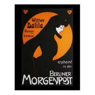 Berlinés Morgenpost de Wittwe Dalila Postales