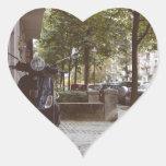 Berlinese Sidewalk Heart Sticker