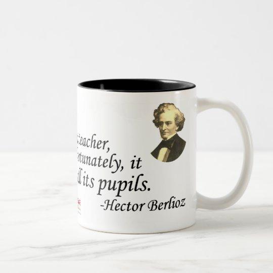 Berlioz on Time Two-Tone Coffee Mug