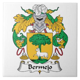 Bermejo Family Crest Ceramic Tile