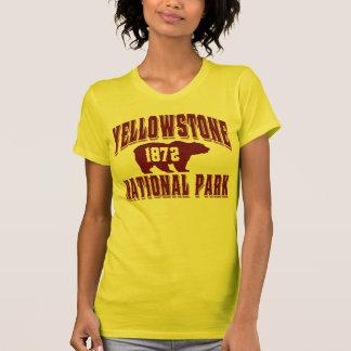 Bermellón del viejo estilo de Yellowstone Camiseta
