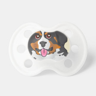 Bermese Mountain Dog Pacifier