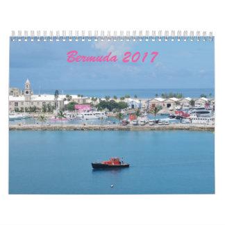 Bermuda 2017 calendar