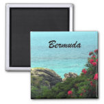 Bermuda 2 Inch Square Magnet