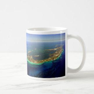 Bermuda Aerial Photograph Coffee Mug