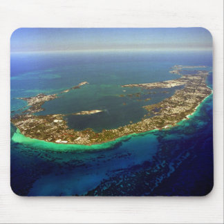 Bermuda Aerial Photograph Mouse Pad