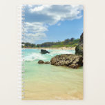 "Bermuda beach planner<br><div class=""desc"">Beautiful Horseshoe Bay beach in Bermuda covers this planner. Let it transport you to paradise while you organize your schedule!</div>"