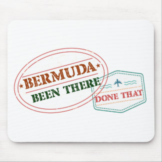 Bermuda Been There Done That Mouse Pad