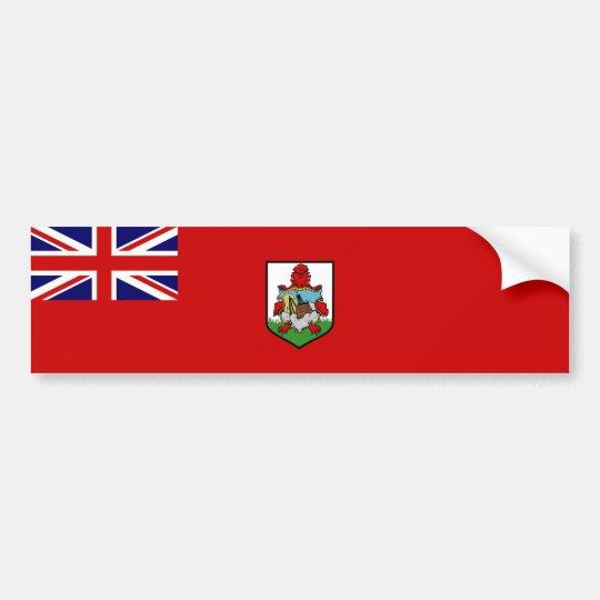 Bermuda/Bermudan Flag. Britain, British Overseas Bumper Sticker